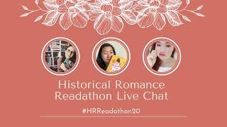 Historical Romance Readathon Live Chat | #HRReadathon20