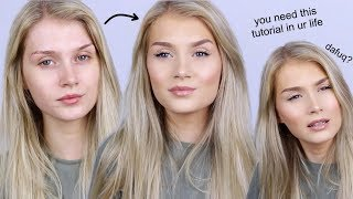 YOU NEED THIS MAKEUP ROUTINE IN YOUR LIFE (no but seriously tho)