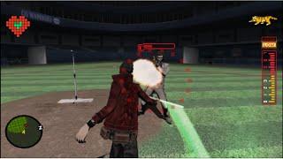 60FPS No More Heroes HD Rank 9 Boss Battle  Dr Peace 720p + HD Cutscenes