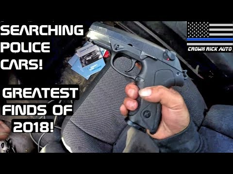 Searching Police Cars Greatest Finds Of 2018! Crown Rick Auto
