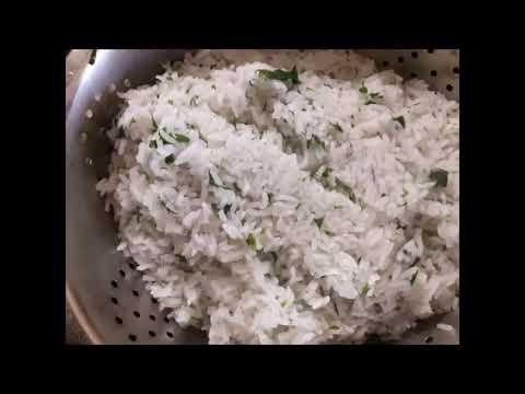 Рис с зеленью от Луча. Rice with greens