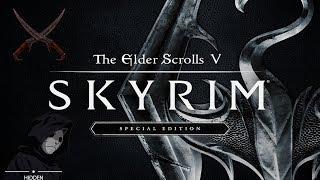 #1 Skyrim - Прохождение за скрытного убийцу(Легенда) - Стрим