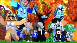 HORROR !! HANTU EREREE MENYERANG SEMUA YOUTUBER MENKREP - Minecraft Animation
