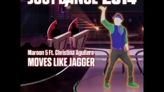 Maroon 5 ft. Christina Aguilera - Moves Like Jagger (Just Dance 2014)