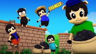 Baa Baa Black Sheep Sat On The Wall | Original Nursery Rhymes | Kids Song