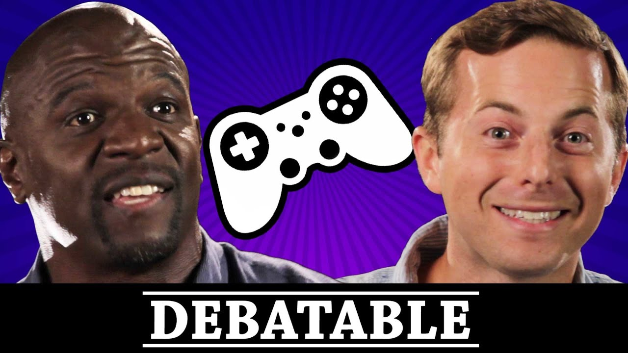 PC Vs. Console Gaming (With Terry Crews) • Debatable thumbnail