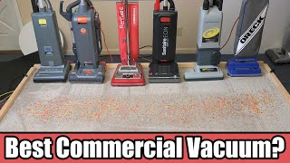 Best Commercial Vacuum Cleaner Competition