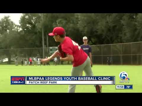 MLBPAA Legends Youth Clinic