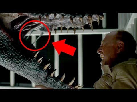 Everything You May Have Missed in the Jurassic World: Fallen Kingdom Trailer #2