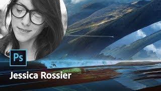 Masterclass avec Jessica Rossier | Concept Art et illustration | Adobe France