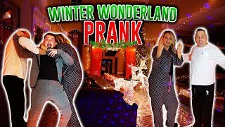 TURNING MY HOUSE INTO WINTER WONDERLAND PRANK (ANGRY PARENTS)