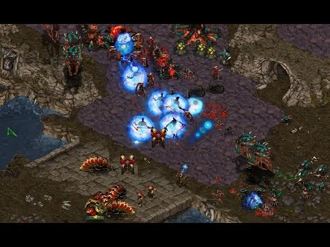 Sea (Z) v |||||||||||| (P) on Fighting Spirit - StarCraft  - Brood War REMASTERED