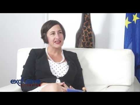 EXCLUSIVE INTERVIEW WITH EUROPEAN UNION AMBASSADOR   SANDRA PAESEN