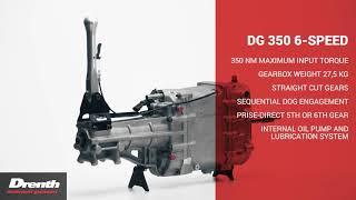 Drenth Gearboxes DG 350 6 SPEED