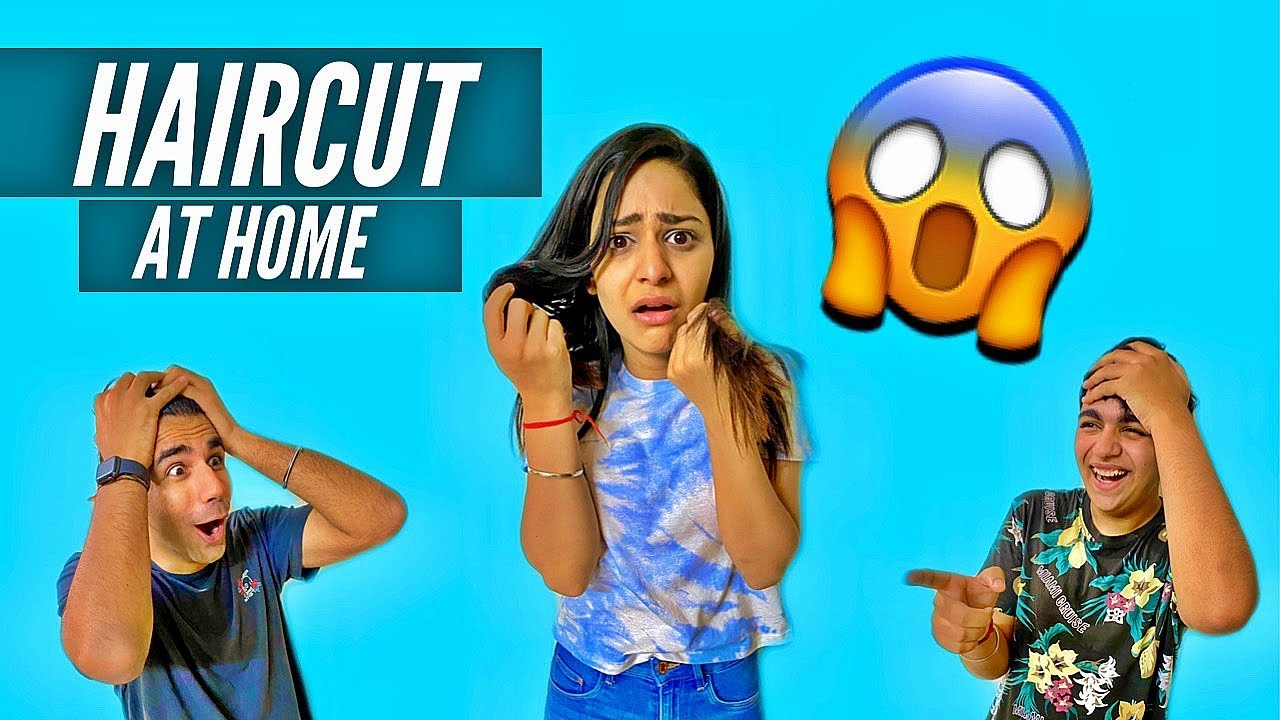 GIVING HAIRCUT TO MY BROTHER AND SISTER CHALLENGE ...