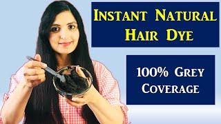 HERBAL HAIR DYE / Homemade Hair Dye Recipe / Natural Hair Color/ Grey Hair Remedy/ Samyuktha Diaries