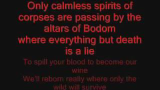 Children of bodom - Children of bodom - Lyrics in song