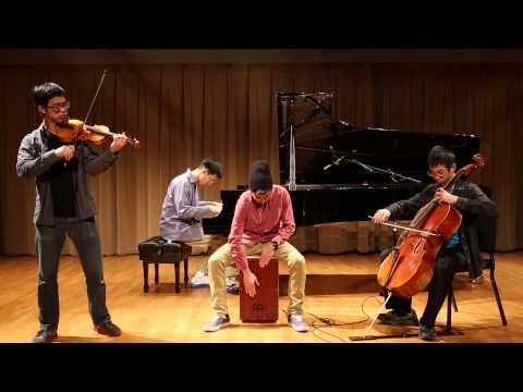 Demons Imagine Dragons Instrumental Cover - The Zion Trio w/ Caleb Wen