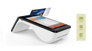 Cynovo PR6 Dual-screen Android POS Tablet at CES 2016