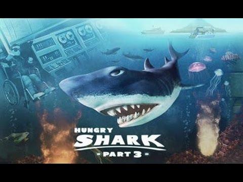Hungry Shark Evolution - летаем на вертолете! Пробуем Антарктиду [iPad / HD]