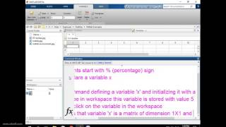 MATLAB Variable Declaration/Initialization Tutorial