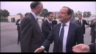 preview picture of video 'L'Actu - François Hollande à Trappes'