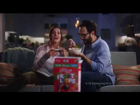 Kellogg's Commercial for Kellogg's Froot Loops (2014) (Television Commercial)