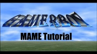 GamerBoy MAME 0.184 Simple Installation Tutorial Windows 8.1 PC
