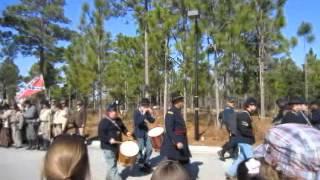 Battle of forks road reenactment 10 - Video Youtube