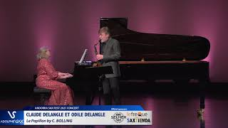 Claude Delangle et Odile Delangle plays Le Papillon by C. BOLLING
