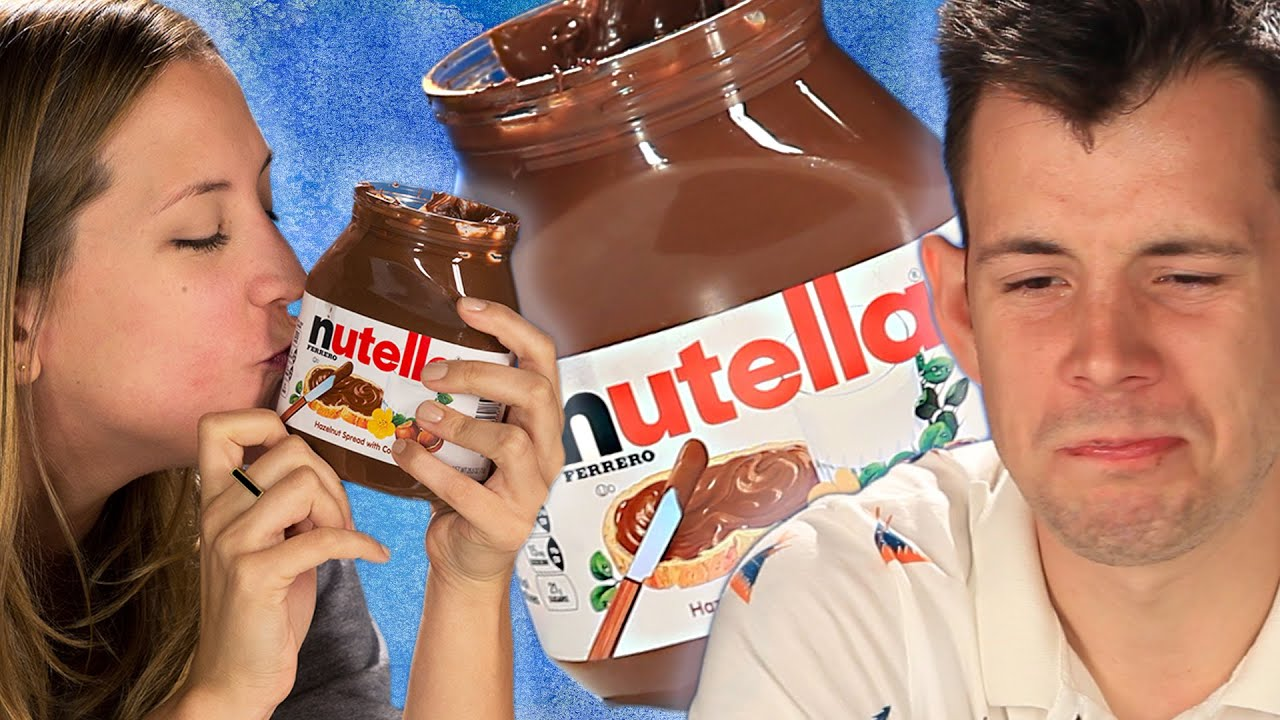 Americans Try Nutella For The First Time thumbnail