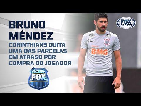 Corinthians quita uma das parcelas da dívida por Bruno Méndez e se livra de punição da FIFA