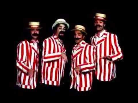 Barbershop Quartet sing the Ewok Celebration Song Live for Films