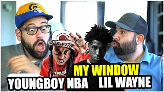THE WEEZY FLOW!!! YoungBoy Never Broke Again -My Window (feat. Lil Wayne) *REACTION!!