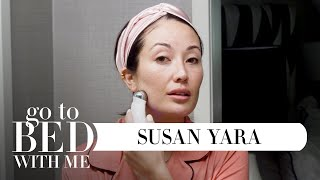 YouTuber @Susan Yara's Nighttime Skincare Routine | Go To Bed With Me | Harper's BAZAAR