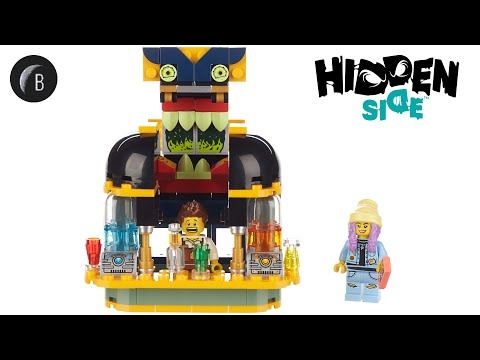 Vidéo LEGO Hidden Side 40336 : Le bar à jus de Newbury