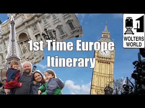 Europe Travel Itinerary: 2 Weeks in London, Paris, Prague & Rome