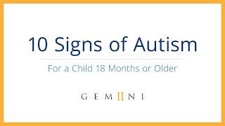 10 Signs of Autism   Gemiini - Signs of Autism in Children