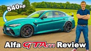 Alfa Romeo Giulia GTAm review - the ultimate performance saloon?