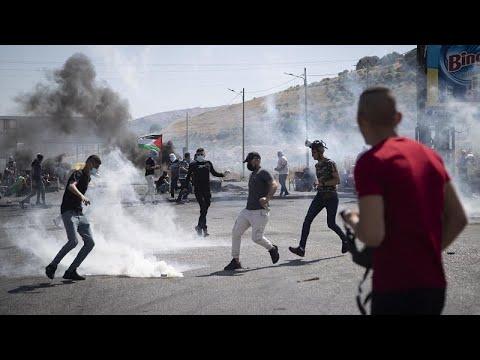 Violência entre Israel e Palestina alastra na região