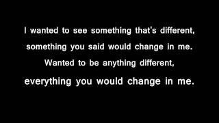 Acceptance Different lyrics