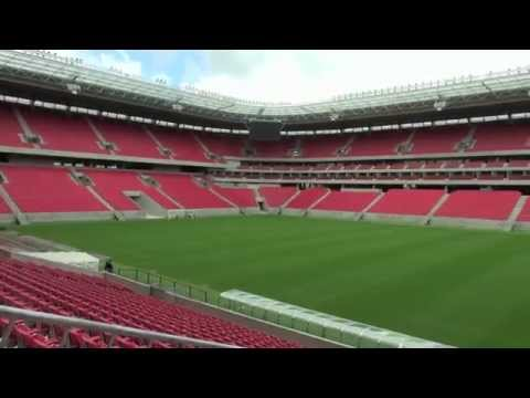 2014 FIFA World Cup in Brazil Green Stadium