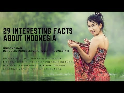 29 Interesting Facts About Indonesia