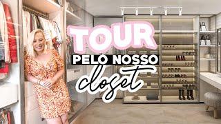TOUR PELO NOSSO CLOSET MA-RA-VI-LHO-S-O!