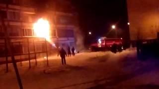 Пожар, Тюмень, пансионат на Бабарынке, 16 б, 17.12.16