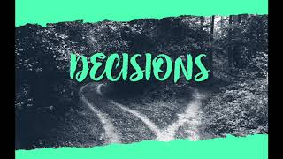 Decisions with Steve Vaughan - TCDCU Podcast MT/WK3/2018