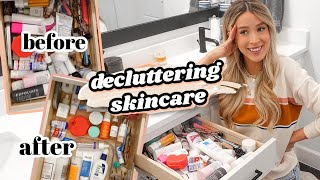 WHAT'S IN MY DRAWER? (decluttering skincare big time) | leighannsays by Leigh Ann Says