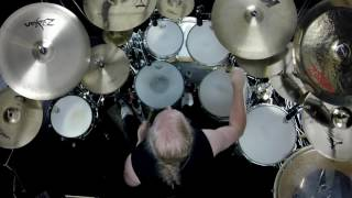 "Steve Lukather's ""Can't Look Back"" - Drums by Larry Crowe"
