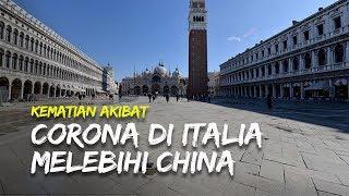 Update Covid-19: Kematian Akibat Virus Corona di Italia Melebihi China