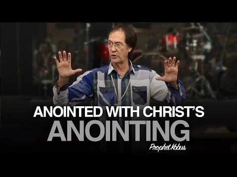Anointed with Christ's Anointing - Prophet Kobus